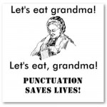 Punctuation Saves Lives!!