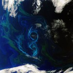 Earth from Space: Figure 8 Algal Bloom