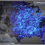 56 Years of Tornado Tracks