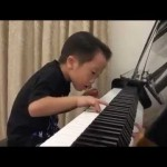 This 5 Year Old Is Good at Playing the Piano. OK, He's Great.