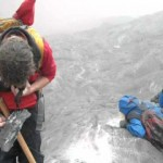 Spectacular rockfall video on the Franz Josef glacier - a lucky escape for a tour party