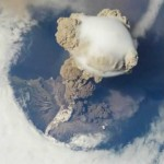Sarychev Volcano Eruption as seen from the International Space Station