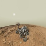 Mars Curiosity takes its Profile Pic