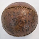 A Civil War Game-Used Baseball
