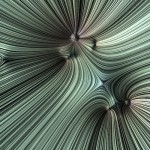Streamlines Visualize Gravitational Fields