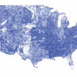 Beautiful Maps: American Rivers in the Contiguous 48