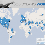 A Map of Every Location Bob Dylan Has Ever Sung About