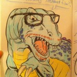 Hipster Dinosaurs