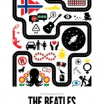 Pictogram Poster of Beatles' Songs