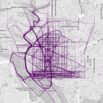 Beautiful Maps: Where people run