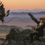 A 13-year-old golden eagle huntress in Mongolia